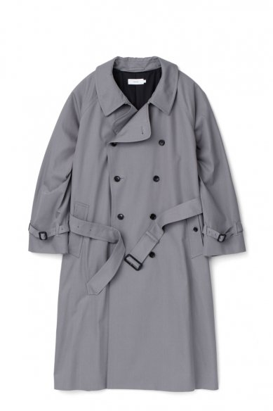 Graphpaper<br>Voile Gabardine Trench Coat
