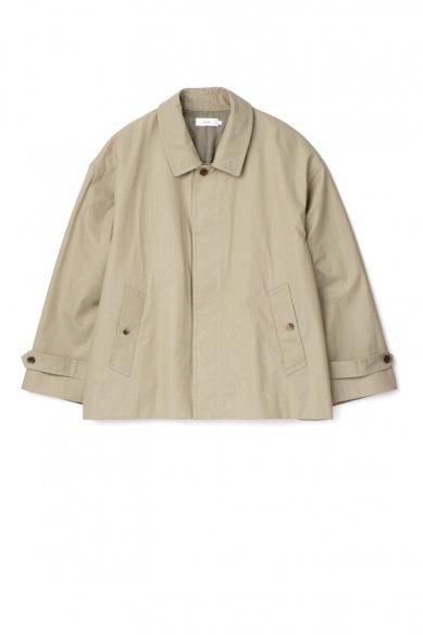 Graphpaper<br>Voile Gabardine Soutien Collar Short Coat