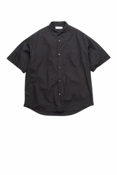 Graphpaper<br>Broad Oversized S/S Regular Collar Shirt