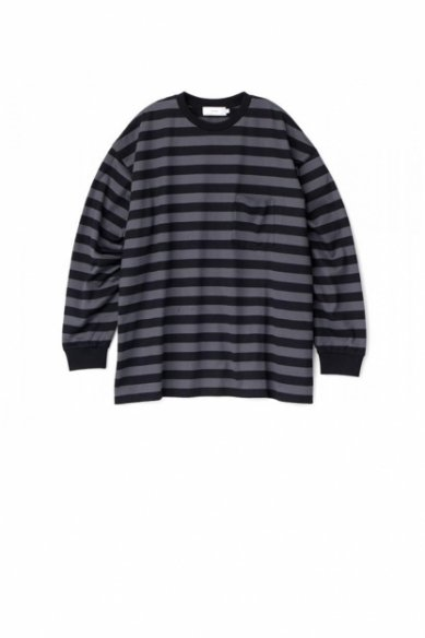 Graphpaper<br>Border L/S Pocket Tee