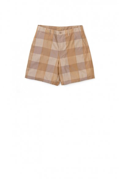 Graphpaper<br>Check Gabardine Oversized Shorts