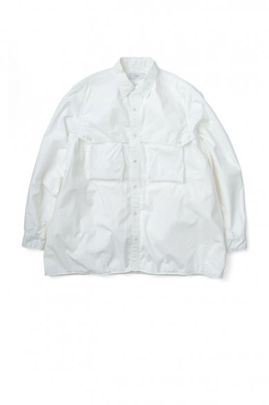 Graphpaper<br>Garment Dyed Poplin Umbrella Yoke Shirt