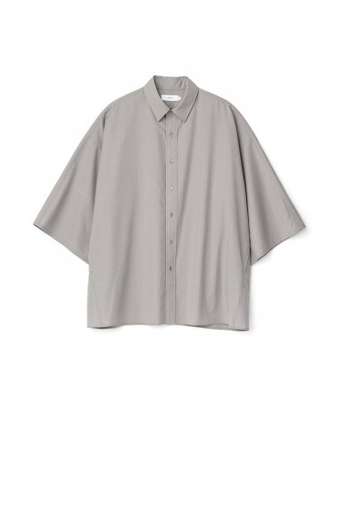 Graphpaper<br>Fine Wool Tropical Yoke Sleeve S/S Shirt
