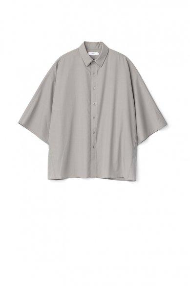 Graphpaper<br>Fine Wool Tropical Yoke Sleeve S/S Shirt