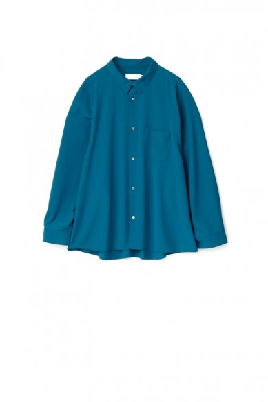 Graphpaper<br>Matte Satin Regular Collar Big Sleeve Shirt