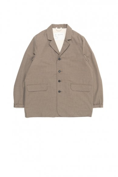 CAMIEL FORTGENS<br>Casual Suit Jacket Check Brown
