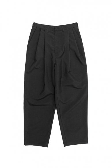 CAMIEL FORTGENS<br>Casual Suit Pants Wool Black