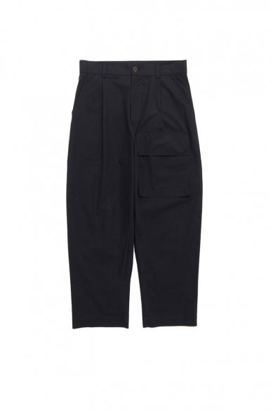 STUDIO NICHOLSON<br>ROSARIO POWDER COTTON VELCRO PATCH POKET PANT