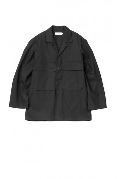 Graphpaper<br>Wooly Cotton Military Jacket