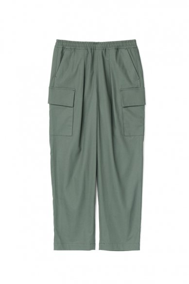 Graphpaper<br>Wooly Cotton Easy Military Pants
