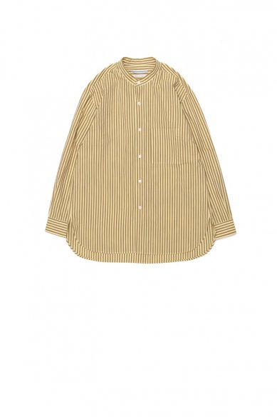 Cristaseya<br>STRIPED COTTON MAO SHIRT
