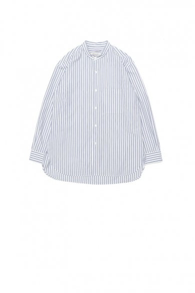 Cristaseya<br>JAPANESE STRIPED COTTON MAO SHIRT