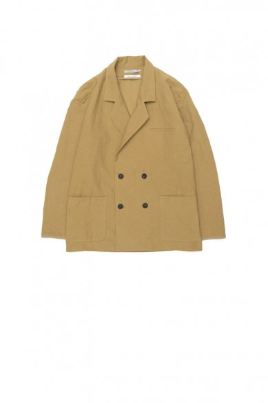 Cristaseya<br>JAPANESE COTTON&LINEN DOUBLE BREASTED JACKET