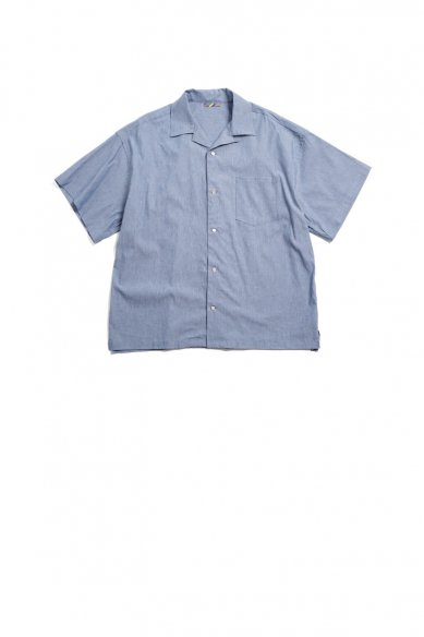 is-ness<br>RELAX OPEN COLLAR SHIRT