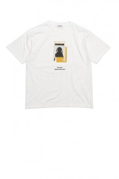 POET MEETS DUBWISE<br>203 Killiman Jah Low Works Collage 1 Inkjet T-shirt