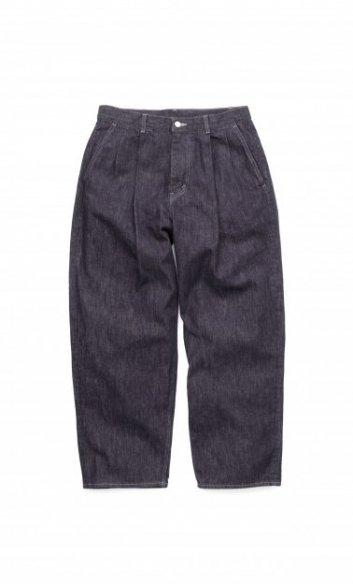 Graphpaper<br>Colorfast Denim 2 Tuck Pants