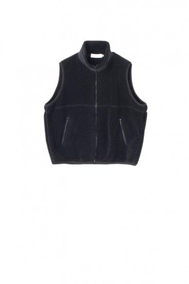 Graphpaper<br>Wool Boa Zip-Up Vest