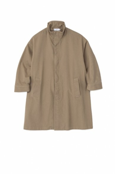Graphpaper<br>Hard Twill Stand Collar Coat