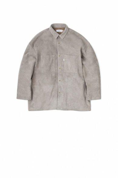 Graphpaper<br>Goat Suede Box Shirt Jacket