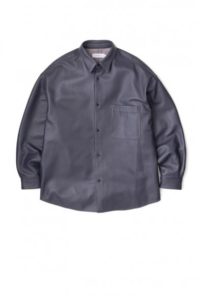 Graphpaper<br>Sheep Leather Oversized Shirt(MEN)