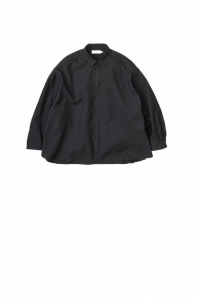 Graphpaper<br>Stretch Kersey Oversized Shirt