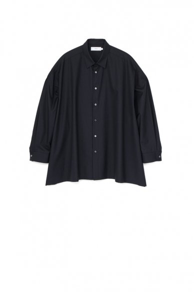 Graphpaper<br>Fine Wool Tropical Oversized Shirt
