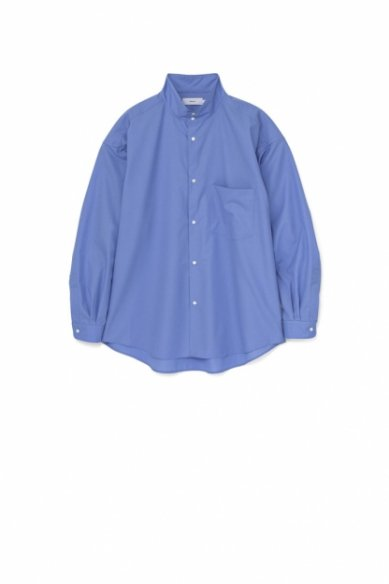 Graphpaper<br>Fine Wool Tropical Stand Collar Shirt