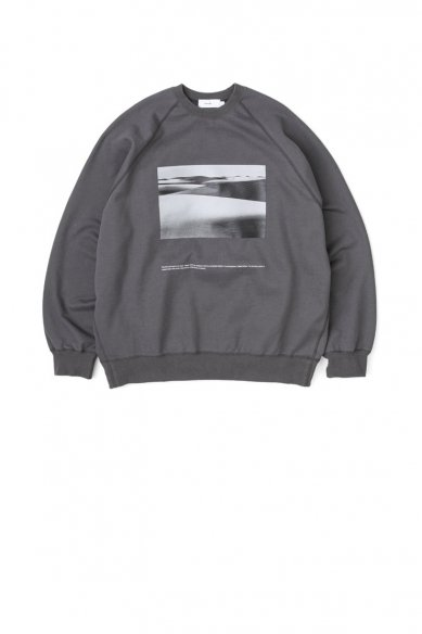 """POET MEETS DUBWISE for GP Compact Terry Crew Neck """"dawn"""""""