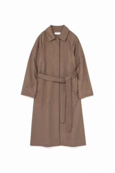 Graphpaper<br>Wool Beaver Belted Coat