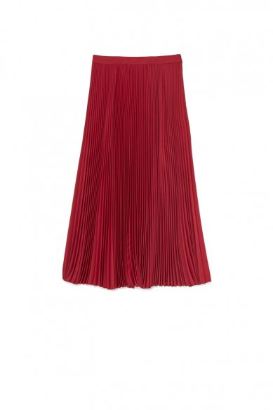 Graphpaper<br>Satin Pleats Skirt