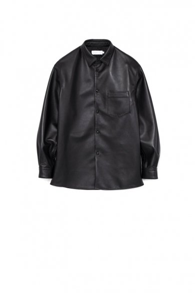 Graphpaper<br>Sheep Leather Oversized Shirt(WOMEN)
