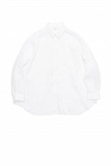 Graphpaper<br>Linen Oversized B.D Shirt