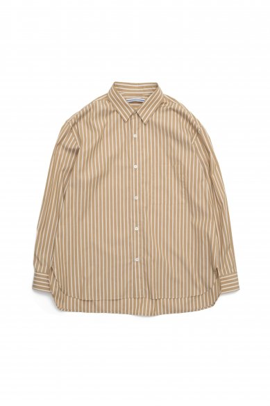 Cristaseya<br>Italian cotton & cashmere oversized classic collar shirt