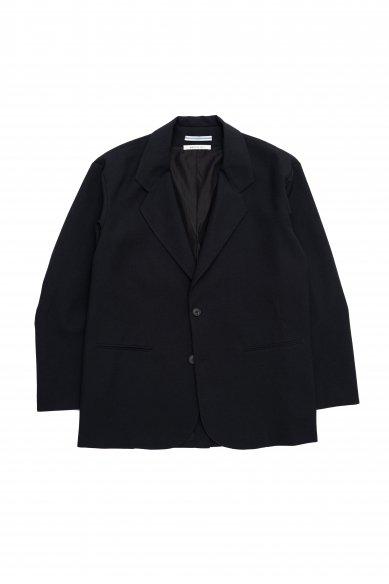 Cristaseya<br>Japanese crepe wool oversized blazer