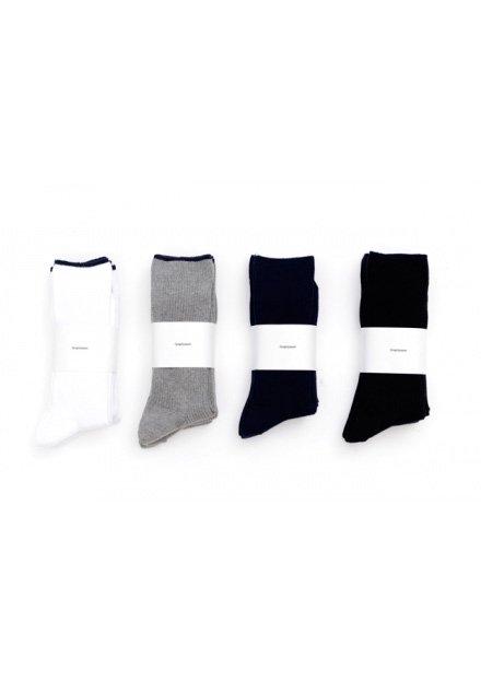 graphpaper3p long socks graphpaper