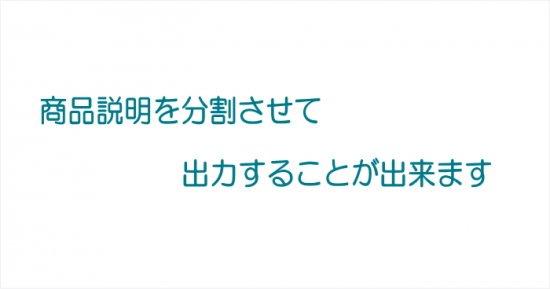商品説明文を複数に分割して表示する -Java未使用- ver1.01【画像2】