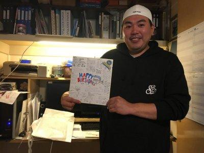 活動・作業日記 ぺパボの皆さんから!粋なサプライズ (;_:)
