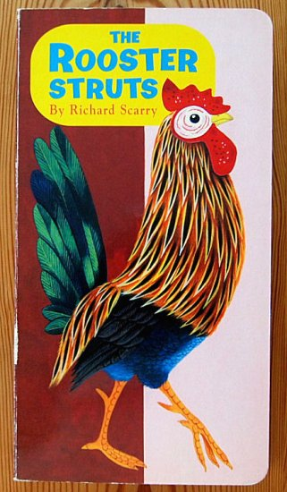 〈英語〉THE ROOSTER STRUTS -a Golden Sturdy Book-