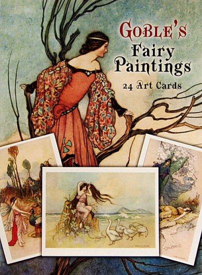 〈英語〉Goble's Fairy Paintings 24 Art Cards