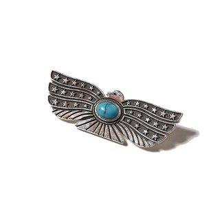 CALEE キャリー EAGLE TURQUOISE BROOCH<SILVER925><img class='new_mark_img2' src='//img.shop-pro.jp/img/new/icons14.gif' style='border:none;display:inline;margin:0px;padding:0px;width:auto;' />