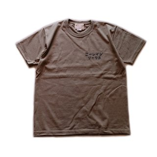 NEILLAGE WORKS ニーレイジ ワークス CREW NECK PRINT T-SHIRTS<OLIVE>