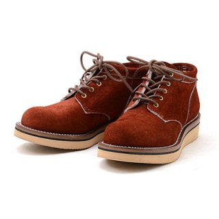 ROLLING DUB TRIO ローリングダブトリオ COUPEN #2021<Oil Suede Red Brown>
