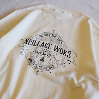 NEILLAGE WORKS ニーレイジ ワークス LEAVE NO TRACE SWEAT<NATURAL><img class='new_mark_img2' src='//img.shop-pro.jp/img/new/icons14.gif' style='border:none;display:inline;margin:0px;padding:0px;width:auto;' />