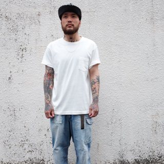 NEILLAGE WORKS ニーレイジ ワークス N-W.S POKE TEE<OFF WHITE>