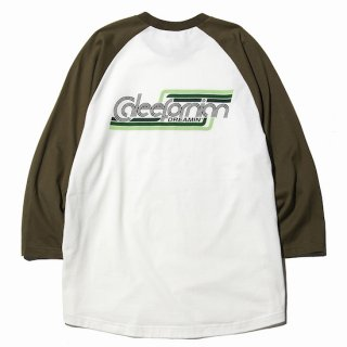 CALEE キャリー  3/4 Sleeve raglan t-shirt<Olive><img class='new_mark_img2' src='https://img.shop-pro.jp/img/new/icons14.gif' style='border:none;display:inline;margin:0px;padding:0px;width:auto;' />