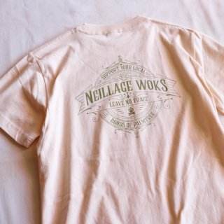 NEILLAGE WORKS ニーレイジ ワークス LEAVE NO TRACE TEE<NATURAL><img class='new_mark_img2' src='https://img.shop-pro.jp/img/new/icons14.gif' style='border:none;display:inline;margin:0px;padding:0px;width:auto;' />