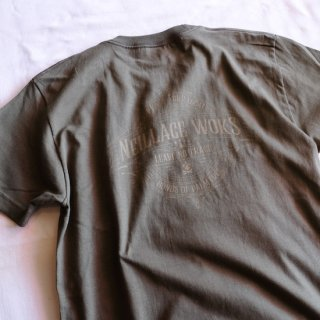 NEILLAGE WORKS ニーレイジ ワークス LEAVE NO TRACE TEE<OLIVE><img class='new_mark_img2' src='//img.shop-pro.jp/img/new/icons14.gif' style='border:none;display:inline;margin:0px;padding:0px;width:auto;' />