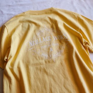 NEILLAGE WORKS ニーレイジ ワークス LEAVE NO TRACE TEE<YELLOW><img class='new_mark_img2' src='//img.shop-pro.jp/img/new/icons14.gif' style='border:none;display:inline;margin:0px;padding:0px;width:auto;' />