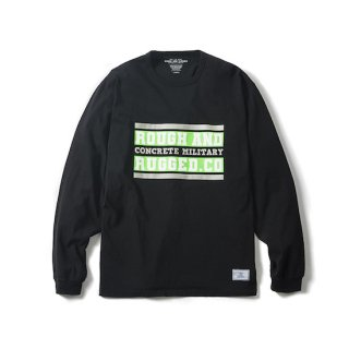 ROUGH AND RUGGED ラフアンドラゲッド DESIGN LS-BAR LOGO<BLACK><img class='new_mark_img2' src='https://img.shop-pro.jp/img/new/icons14.gif' style='border:none;display:inline;margin:0px;padding:0px;width:auto;' />