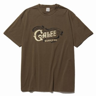 CALEE キャリー Main logo t-shirt<Olive><img class='new_mark_img2' src='https://img.shop-pro.jp/img/new/icons14.gif' style='border:none;display:inline;margin:0px;padding:0px;width:auto;' />